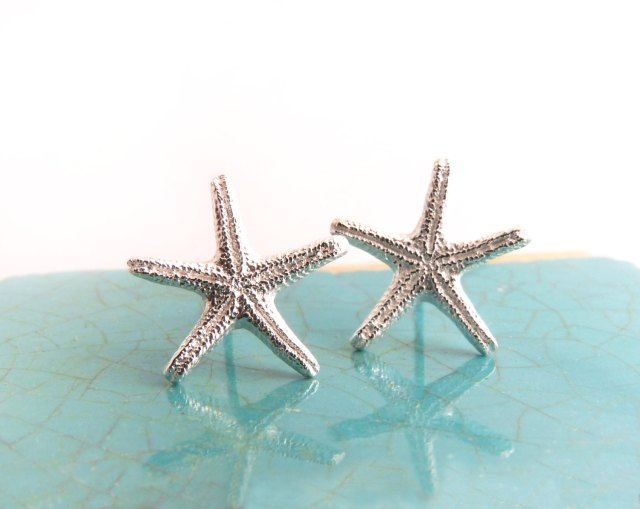 Starfish Posts_BlueDotJewelry