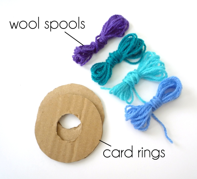 T1 card rings and spools