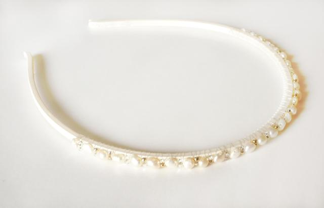 handmade beaded headband