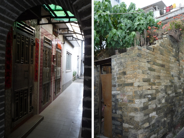 Inside the Sheung Cheung Wai walled village