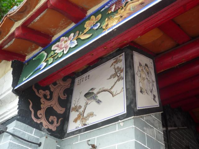 Yeung Hau temple detail