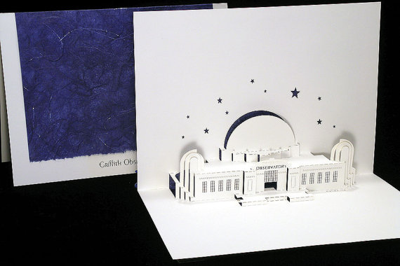 Box of 3 Griffith Observatory cards - Live Your Dream Designs