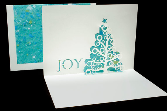 Joy Tree pop up card - Live Your Dream Designs
