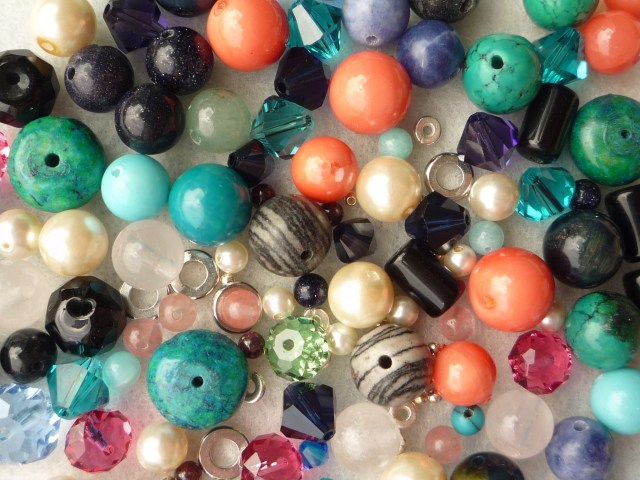Random mix of beads