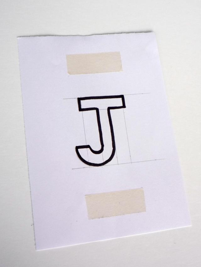 Draw out your initial