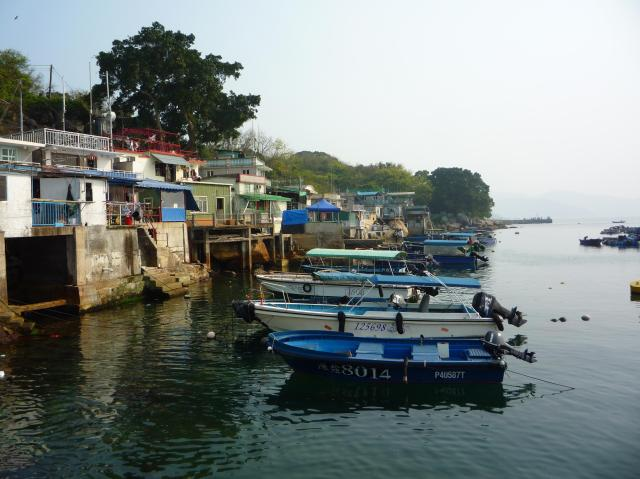 Fishing boats at Tap Mun