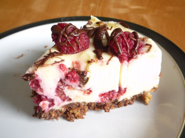 Little Koo - White chocolate and raspberry cheesecake recipe