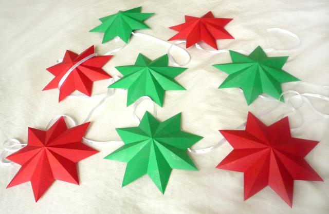Papercraft 3D stars - Little Koo