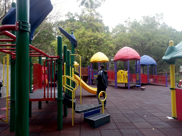 Tai Po Waterfront Park playground