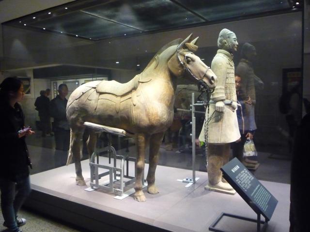 Terracotta warrior and horse