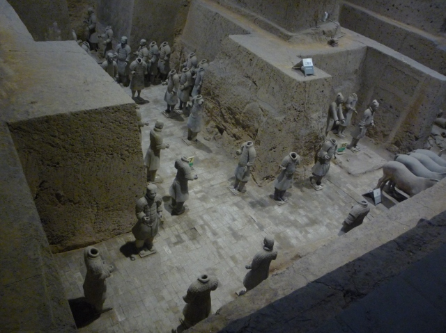 Terracotta warriors pit 3
