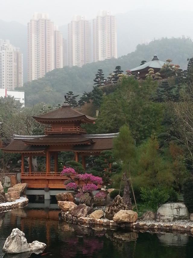 150908 Candid Hong Kong Nan Lian Gardens