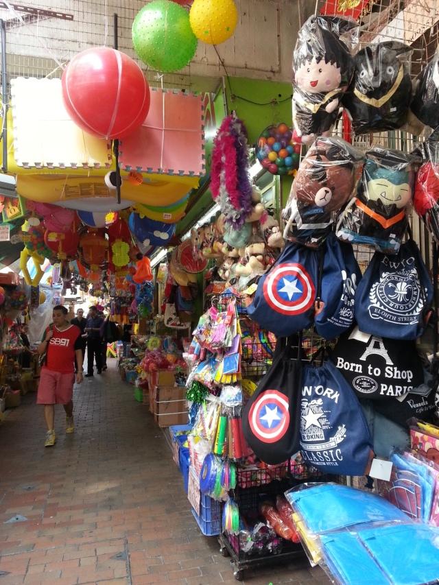 Toy Street Sham Shui Po