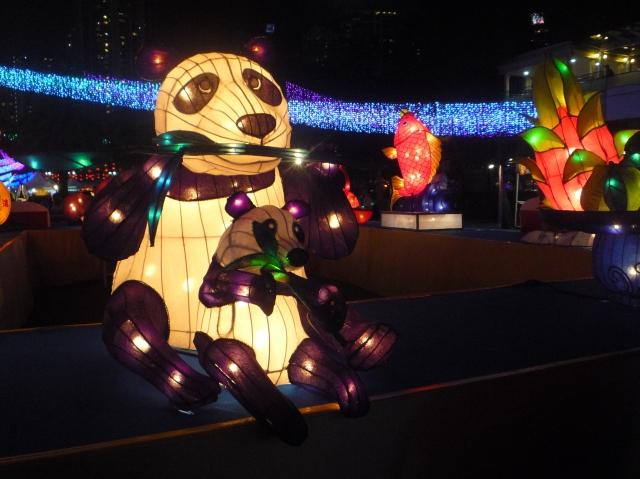 Mid Autumn festival 2015 - panda lantern