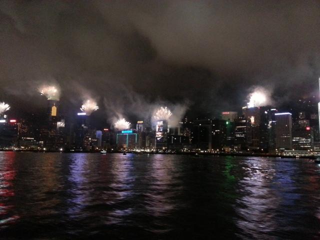 151229 Candid Hong Kong random fireworks