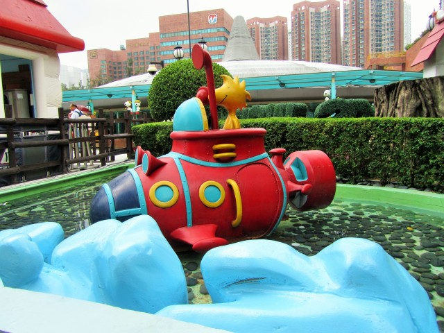 Boat ride scene Snoopy World Shatin