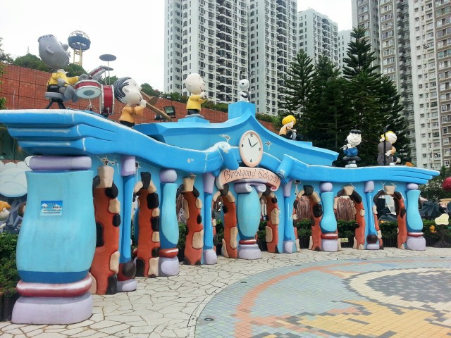 Peanuts school Snoopy World Shatin