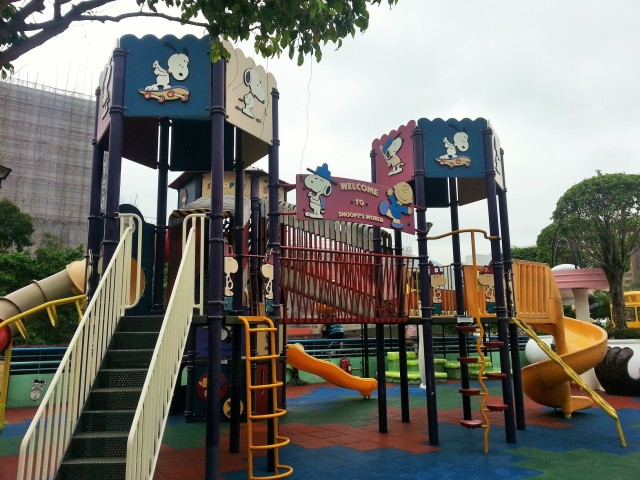 Playground at Snoopy World