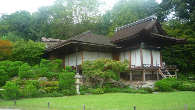 House at Okochi-sanso gardens Kyoto - The Little Koo Blog