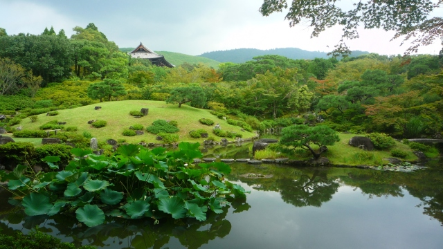 Isui-En gardens Nara - The Little Koo Blog