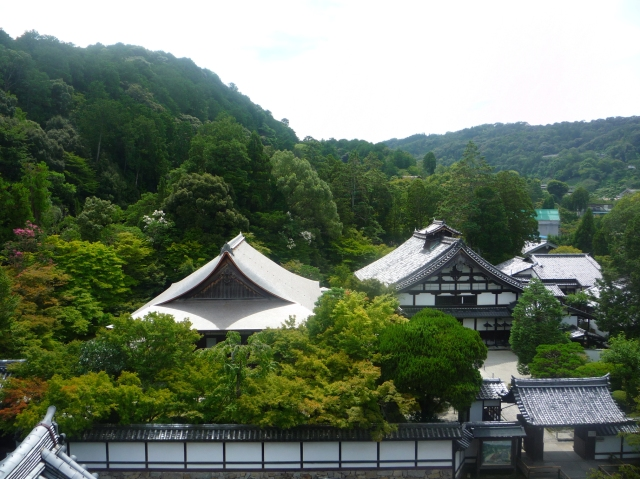 View from the Sanmon gate at Nanzen-ji Kyoto - The Little Koo Blog
