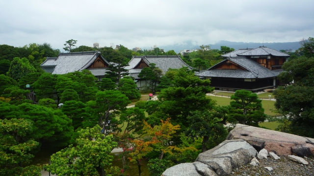 View over Castle Nijo in Kyoto - The Little Koo Blog