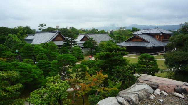 View over Castle Nijo in Kyoto - The Little Koo Blog