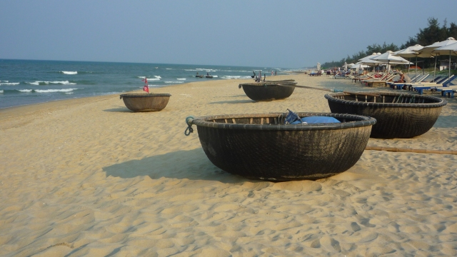 An Bang beach coracles