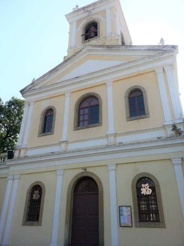 Our Lady of Carmel Church Taipa Macau