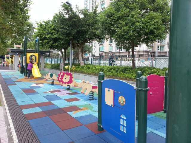 Ma On Shan promenade playground