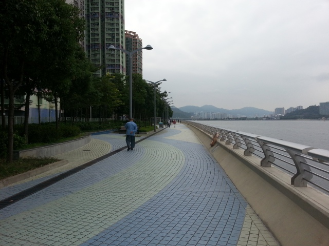 Ma On Shan promenade